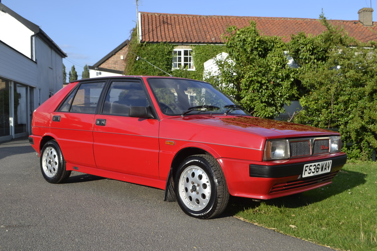 1988 Lancia Delta HF Turbo IE For Sale (picture 1 of 8)