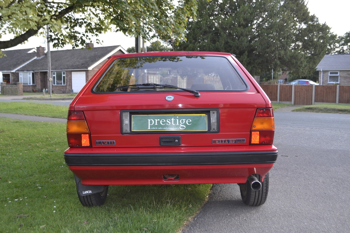 1988 Lancia Delta HF Turbo IE For Sale (picture 5 of 8)