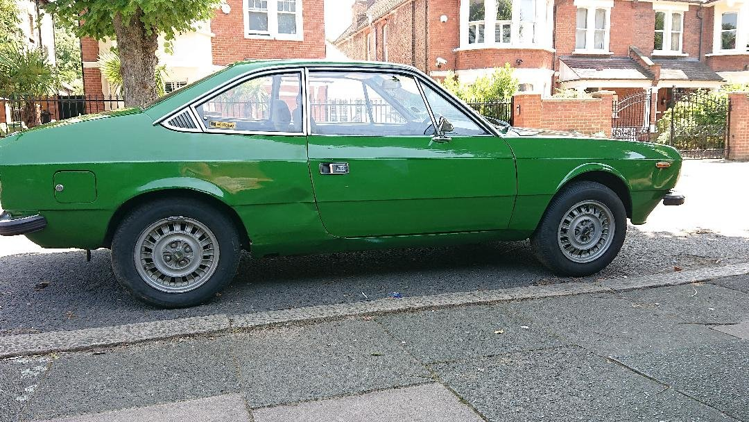 1976 Lancis Beta 1600 Couoe for restoration Rare  For Sale (picture 2 of 6)