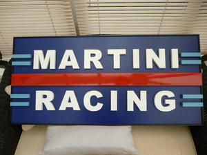 Martini Racing Sign