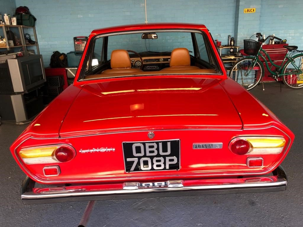 1976 Lancia Fulvia 3 1.3 Coupe For Sale (picture 2 of 6)