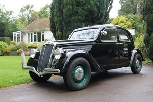 1938 LANCIA APRILIA BERLINA,Over £60k spent with Jim Stokes! For Sale