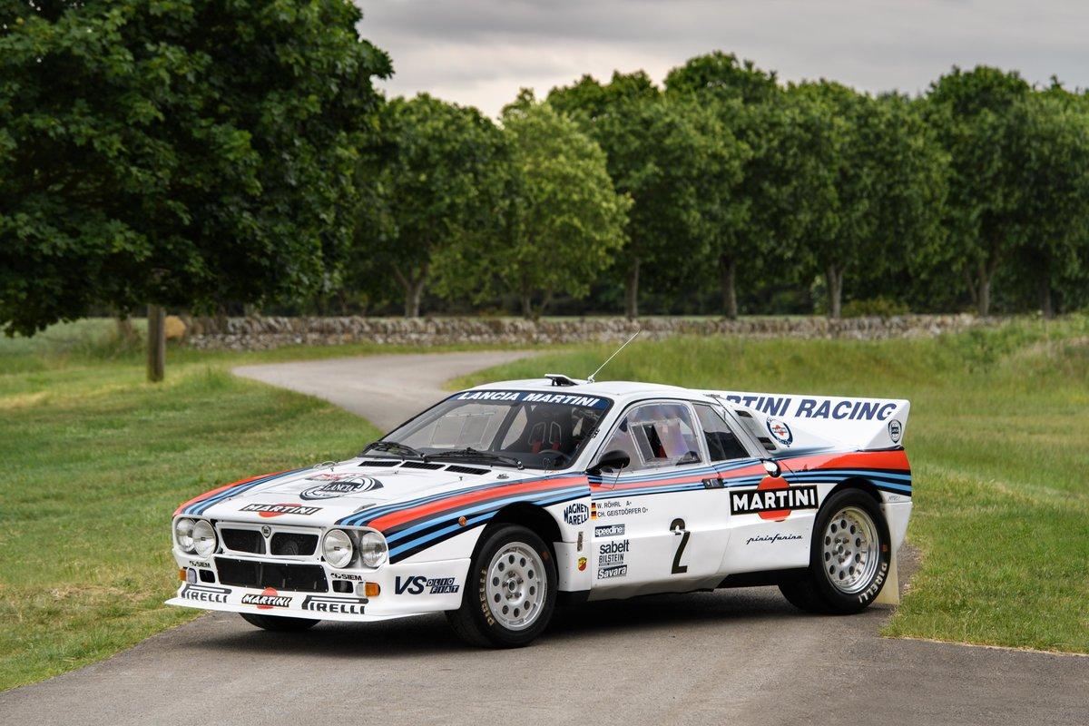 1983 Lancia Works 037 - Ex Walter Röhrl WRC For Sale (picture 1 of 6)