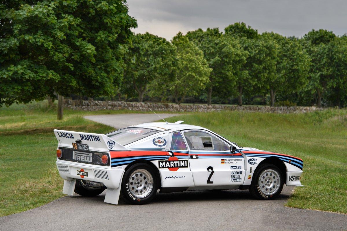 1983 Lancia Works 037 - Ex Walter Röhrl WRC For Sale (picture 2 of 6)