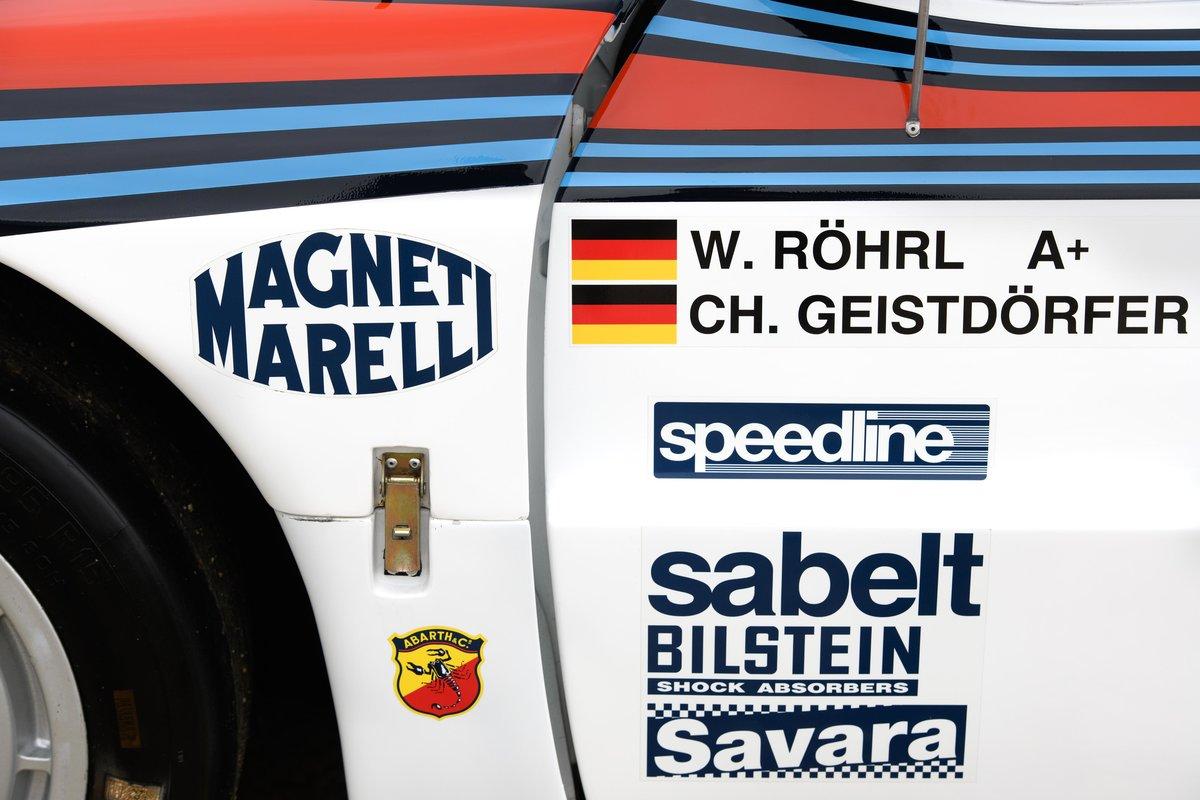 1983 Lancia Works 037 - Ex Walter Röhrl WRC For Sale (picture 6 of 6)