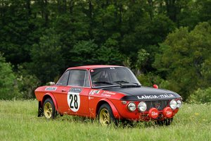 1971 Lancia Fulvia 1.6HF Competition Works Car For Sale