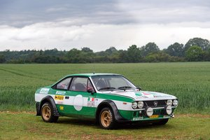 1976 Lancia Beta Coupe Group 4 Works SOLD