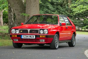 1990 Lancia Delta HF Integrale 8v Just £10,000 - £12,000 For Sale by Auction