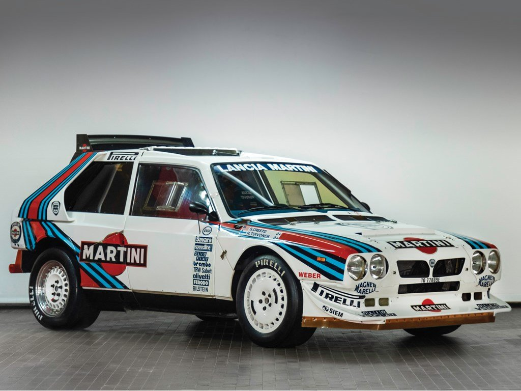 1985 Lancia Delta S4 Rally  For Sale by Auction (picture 1 of 6)