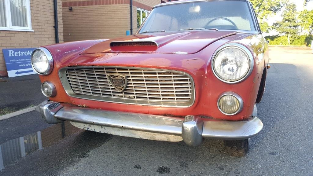 1962 Lancia Flaminia Coupe, LHD, ex-Jo'burg, Complete, Starts/Run For Sale (picture 1 of 6)
