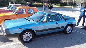 1981 Lancia Montecarlo Spider Serie 2 - two owners LHD