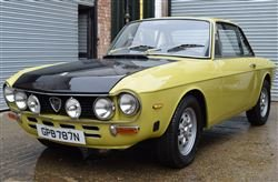 1974 Fulvia Series 2-Barons Sandown Pk  Saturday 26 October 2019 For Sale by Auction