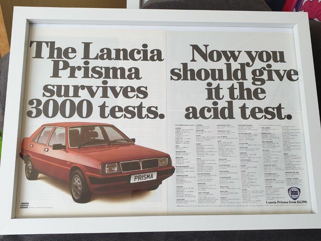 1984 Original Lancia Prisma For Sale (picture 1 of 2)