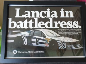 Picture of 1980 Lancia Montecarlo Advert Original