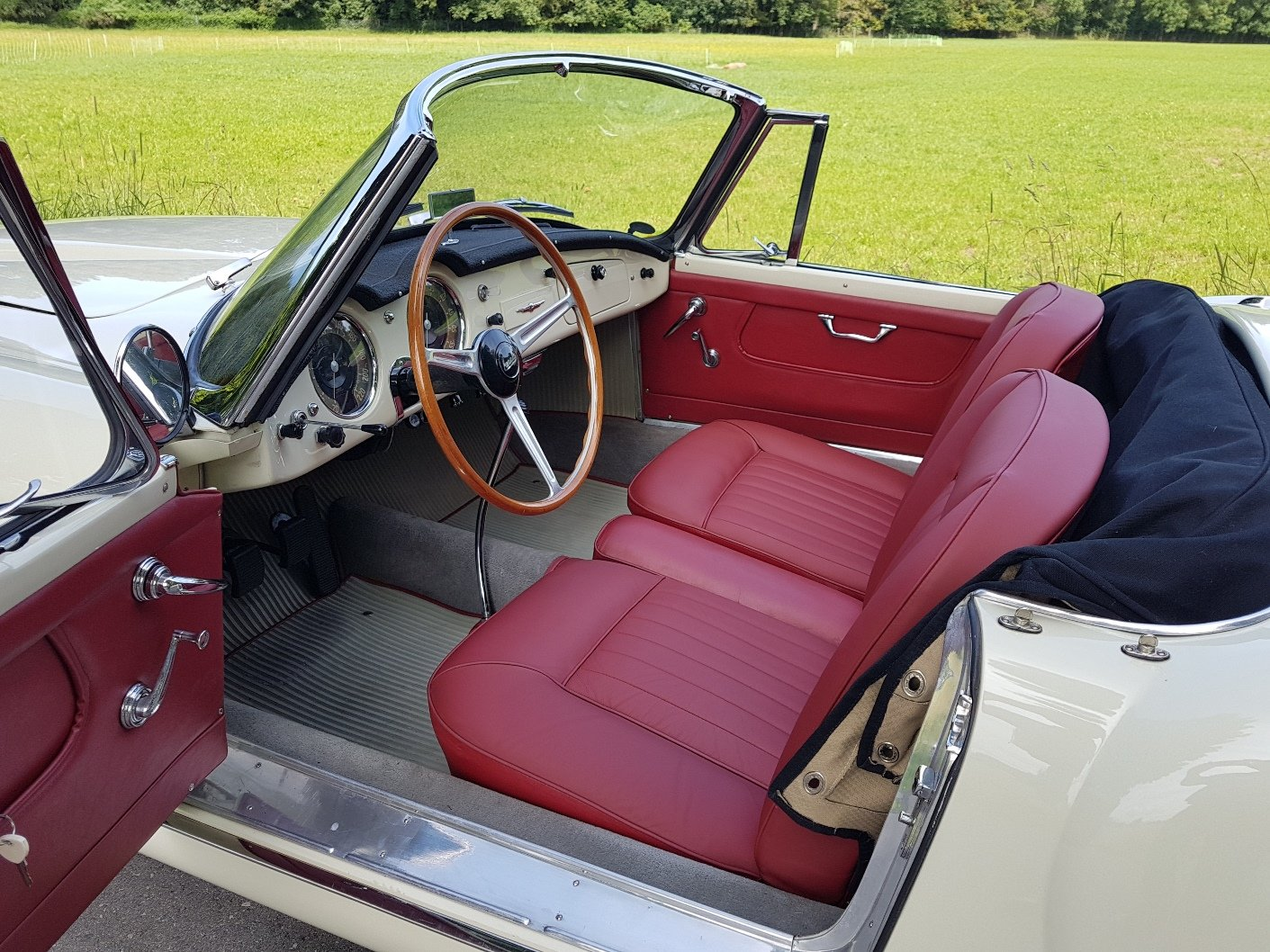 1957 Lancia Aurelia B24 S Convertibile, matching numbers/colours For Sale (picture 3 of 6)