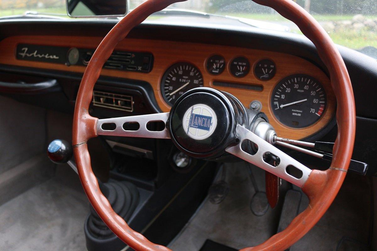 1971,UK RHD LANCIA FULVIA SPORT ZAGATO 1.3S SOLD (picture 6 of 6)
