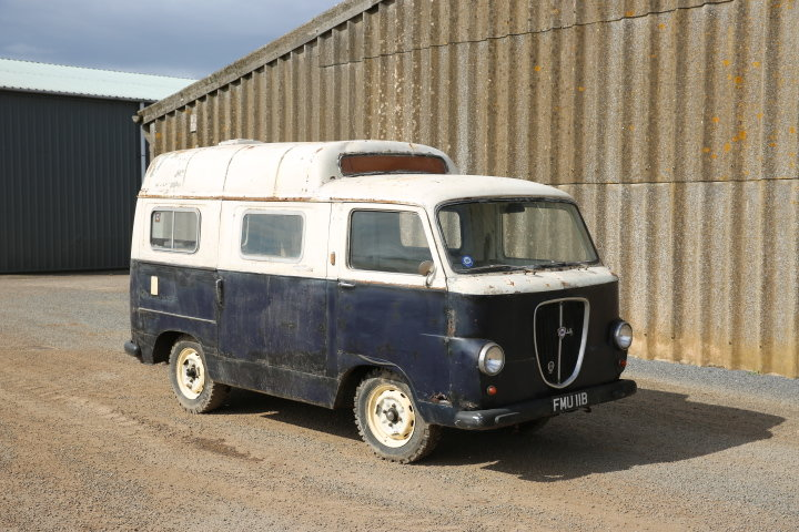1959 Lancia Appia Jolly van -Original works service van For Sale (picture 1 of 6)