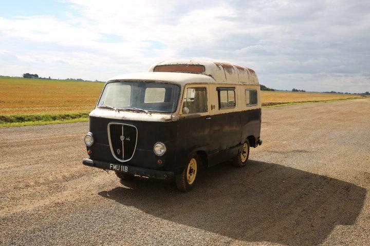 1959 Lancia Appia Jolly van -Original works service van For Sale (picture 2 of 6)