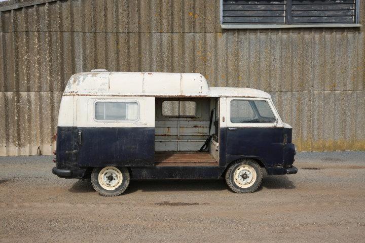 1959 Lancia Appia Jolly van -Original works service van For Sale (picture 5 of 6)