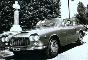 1961 Lancia flaminia touring convertible