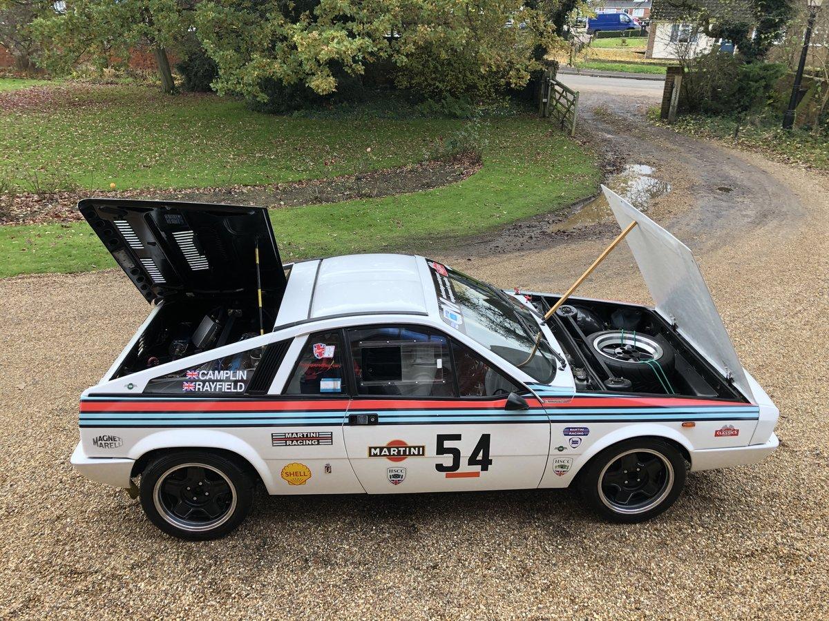 1978 Lancia Montecarlo FIA/HSCC Race car (Road legal) For Sale (picture 18 of 24)