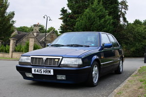 1992 Lancia Thema Blue over Beige