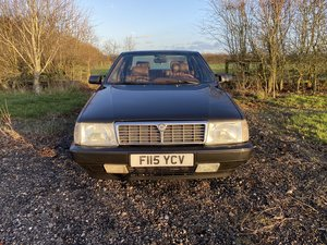 1989 Lancia Thema Black over Beige