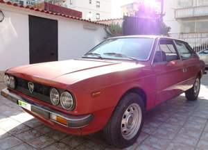 LANCIA BETA HPE 1.6 COUPE '(1979) TO BE RESTORED