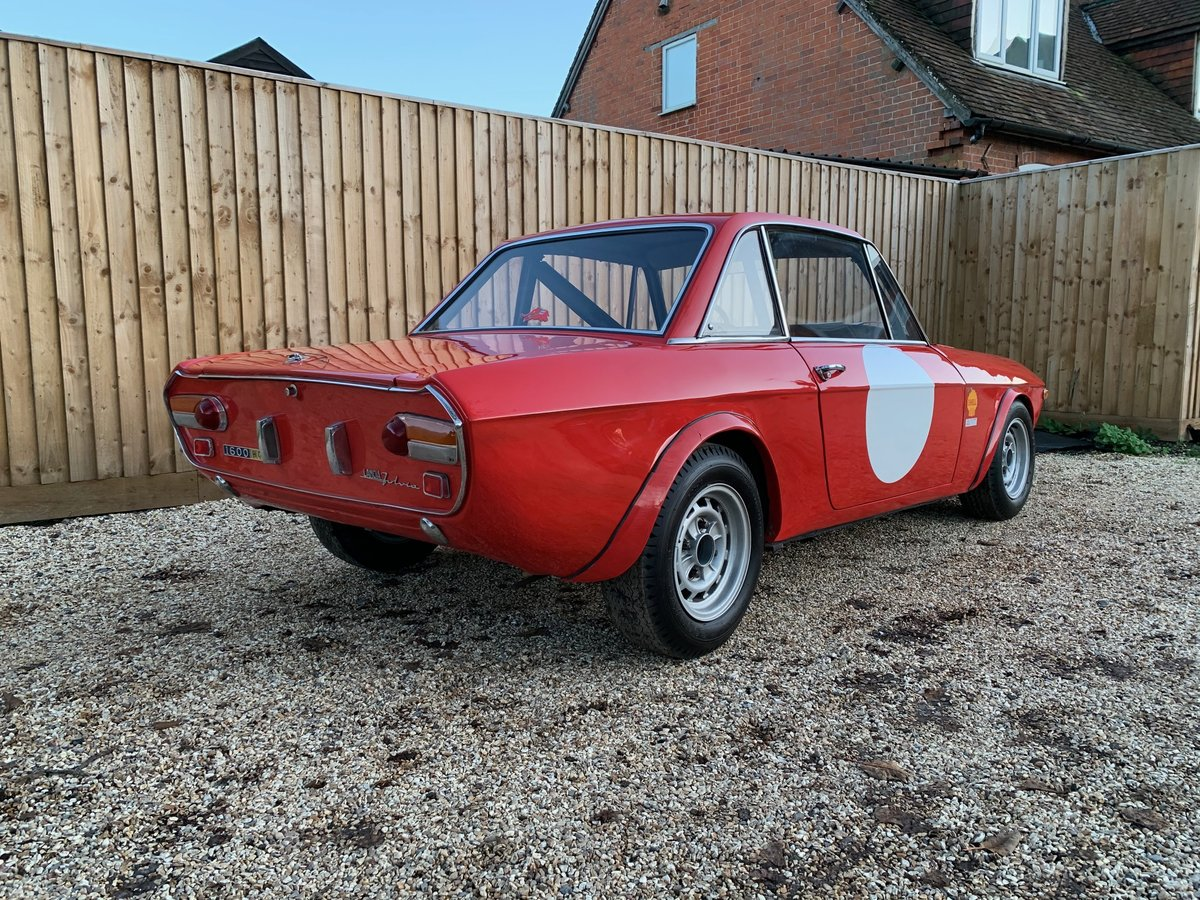 Ex-Works 1969 Lancia Fulvia 1.6HF Fanalone, Sebring 12 hour  For Sale (picture 2 of 6)