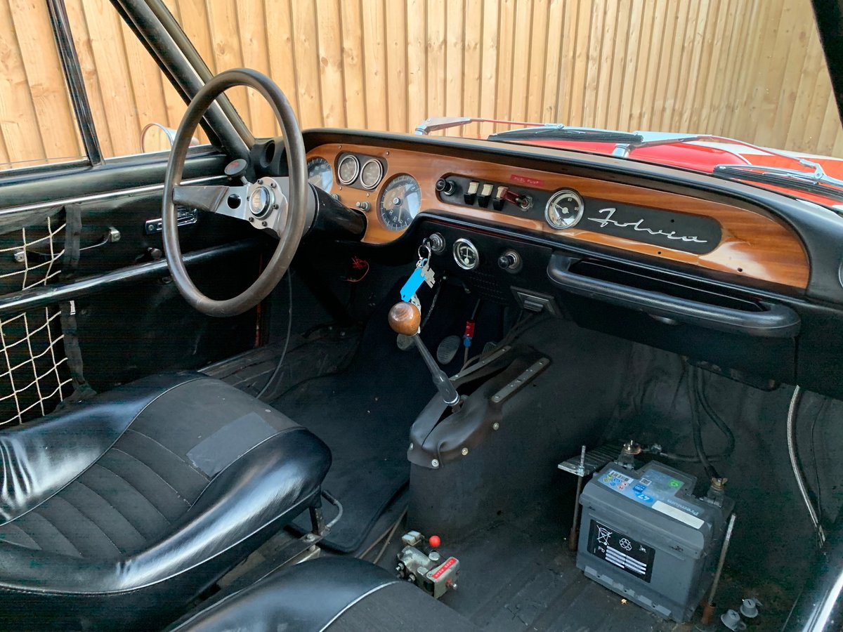 Ex-Works 1969 Lancia Fulvia 1.6HF Fanalone, Sebring 12 hour  For Sale (picture 4 of 6)