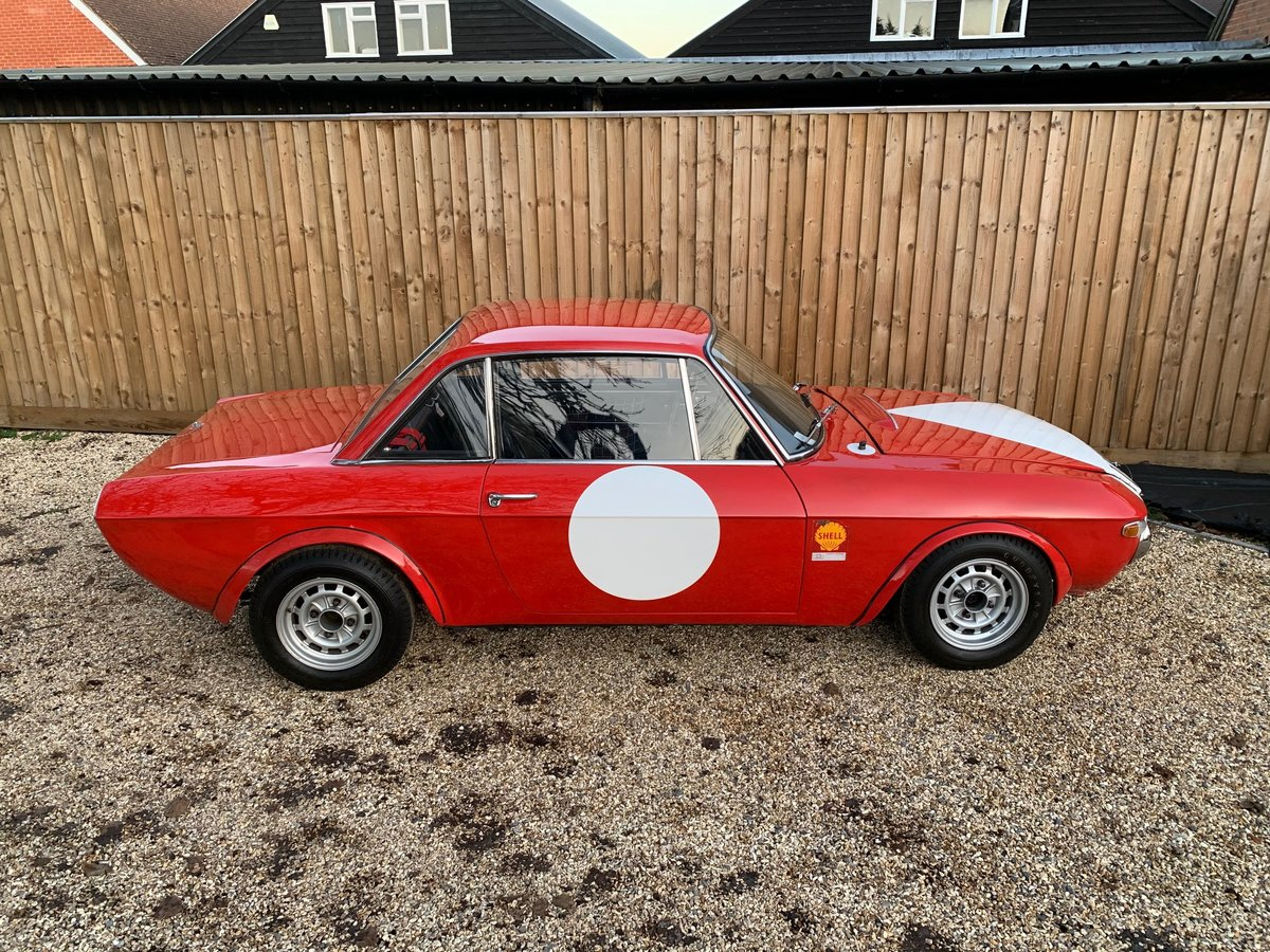 Ex-Works 1969 Lancia Fulvia 1.6HF Fanalone, Sebring 12 hour  For Sale (picture 5 of 6)
