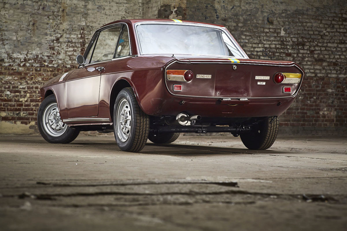 1972 Lancia Fulvia Coupe 17 Jan 2020 For Sale by Auction (picture 5 of 6)