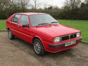 1988 Lancia Delta 1.3 LX at ACA 25th January