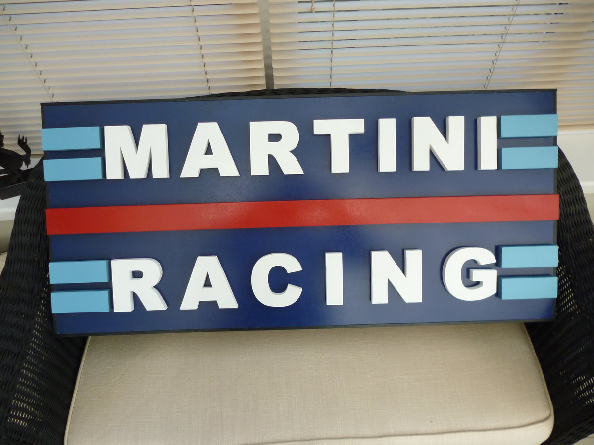 Martini Racing Sign For Sale (picture 1 of 2)