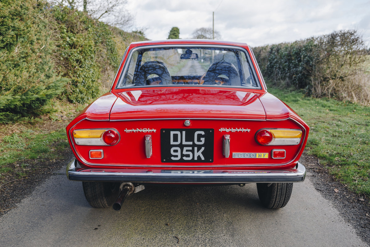 1971 Lancia Fulvia 1.6 HF Lusso RHD Restored! SOLD (picture 2 of 10)