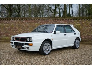 1993 Lancia Delta HF Integrale EVO 2 With only 38500 kms from new