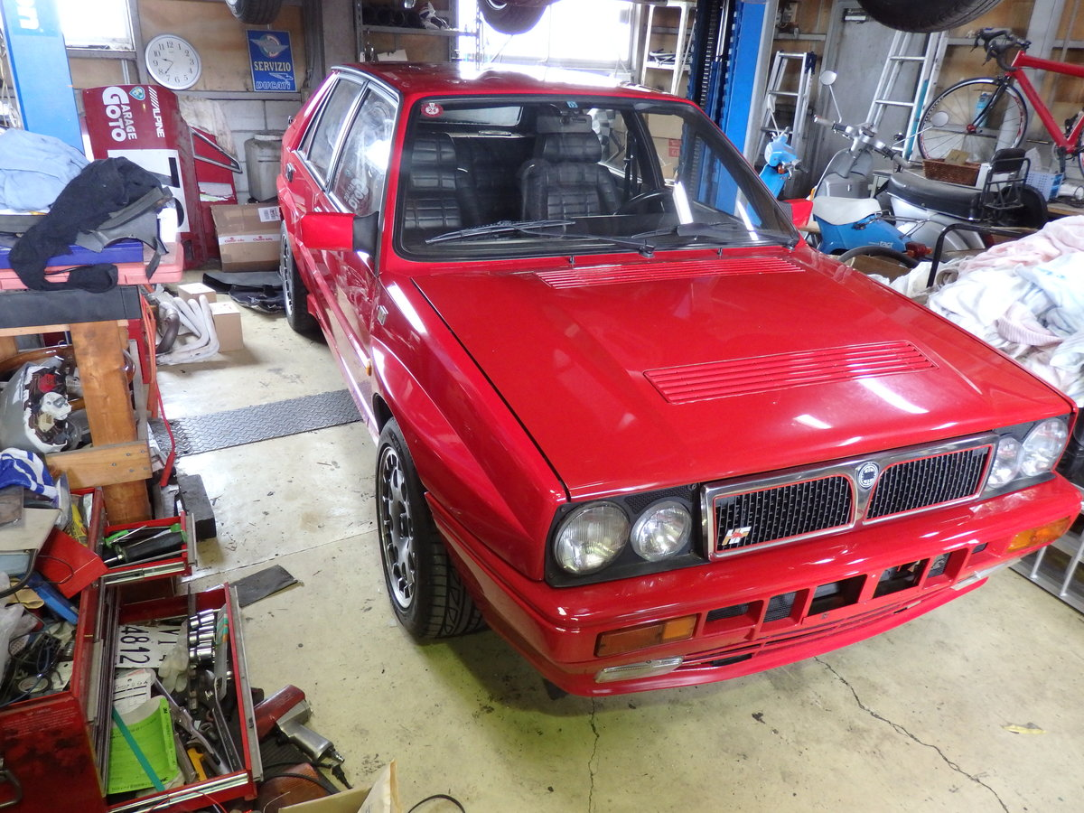 1991 Lancia Delta HF Integrale 16 v in mint condition For Sale (picture 3 of 6)
