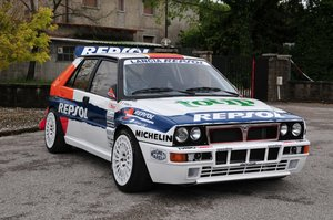 "1991 Lancia Delta Integrale ""Deltona"" Ex Works  For Sale"