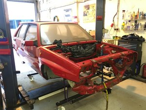 Lancia Delta Integrale - Body Shell
