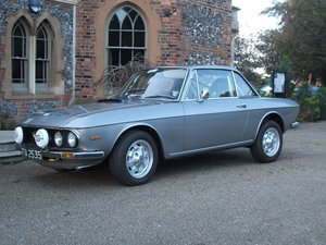 1972 Lancia Fulvia 1300 rallye. MSA Historic rally. SOLD