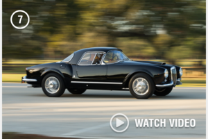 1955 Lancia Aurelia Spider (B24) clean and solid black Rare