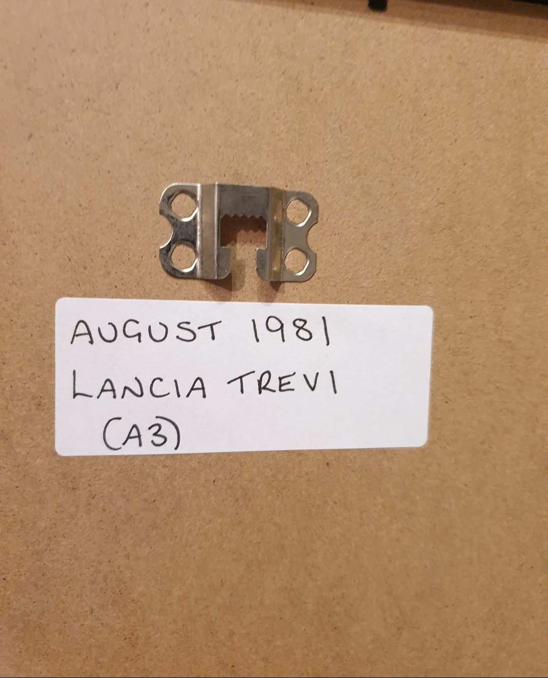 1981 Original Lancia Trevi Framed Advert For Sale (picture 2 of 2)