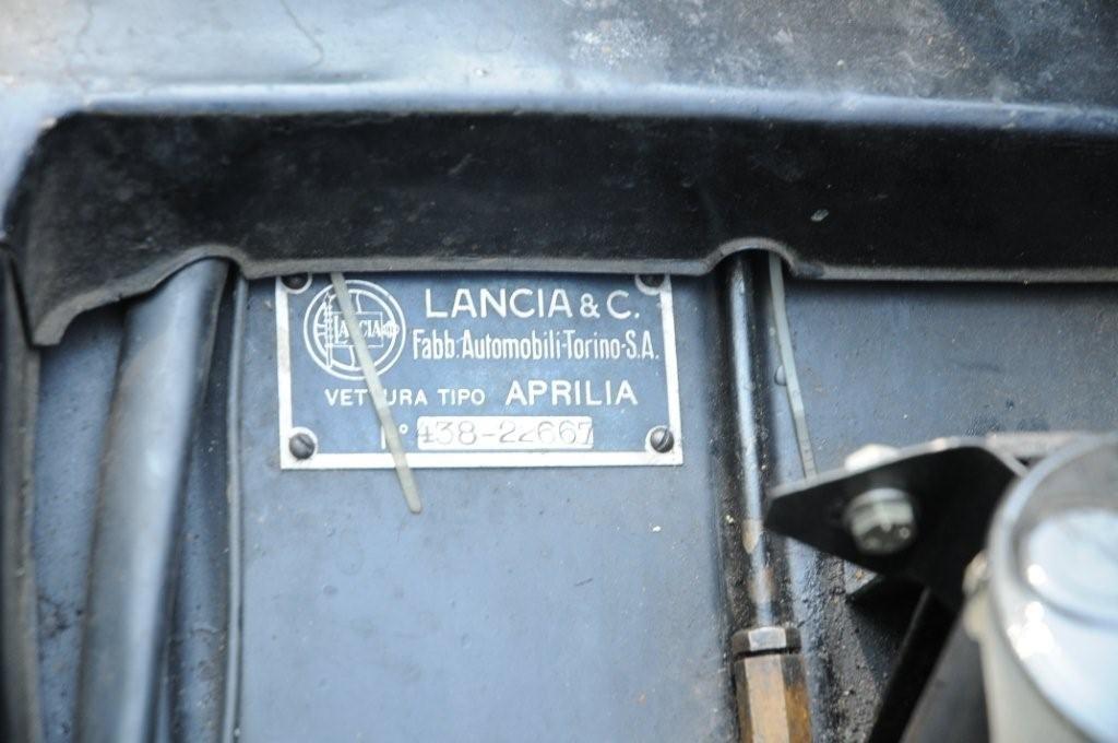 1946 Lancia Aprilia, restored For Sale (picture 6 of 6)