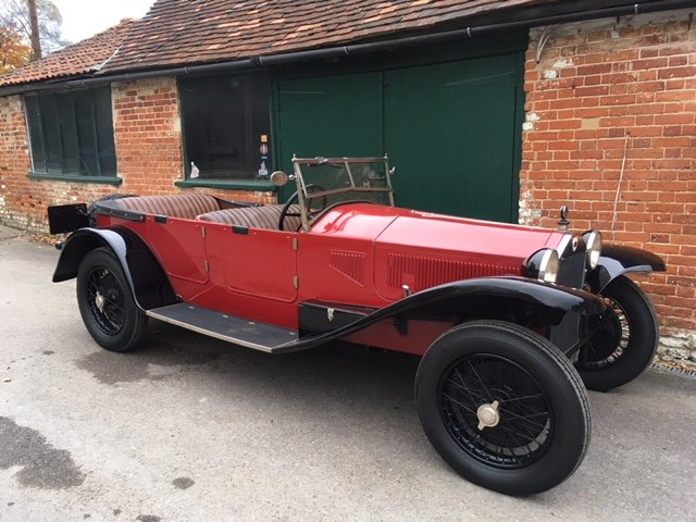 1924 Lancia Lambda Series 3 All Matching Numbers SOLD (picture 1 of 5)