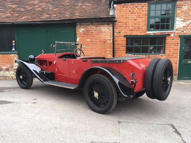 1924 Lancia Lambda Series 3 All Matching Numbers SOLD (picture 3 of 5)