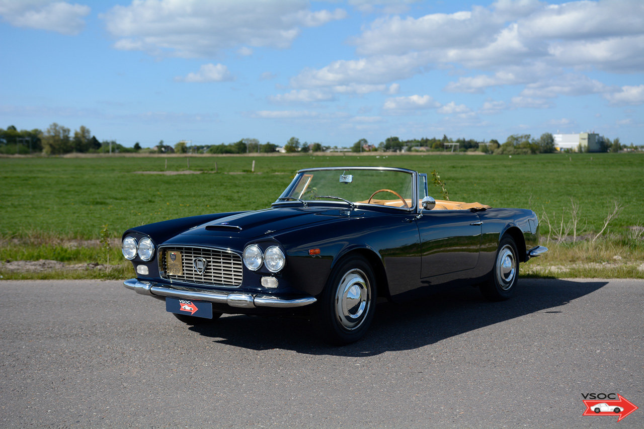 1962 Lancia Flaminia 3C 2500 Touring Convertible - very charming For Sale (picture 1 of 6)