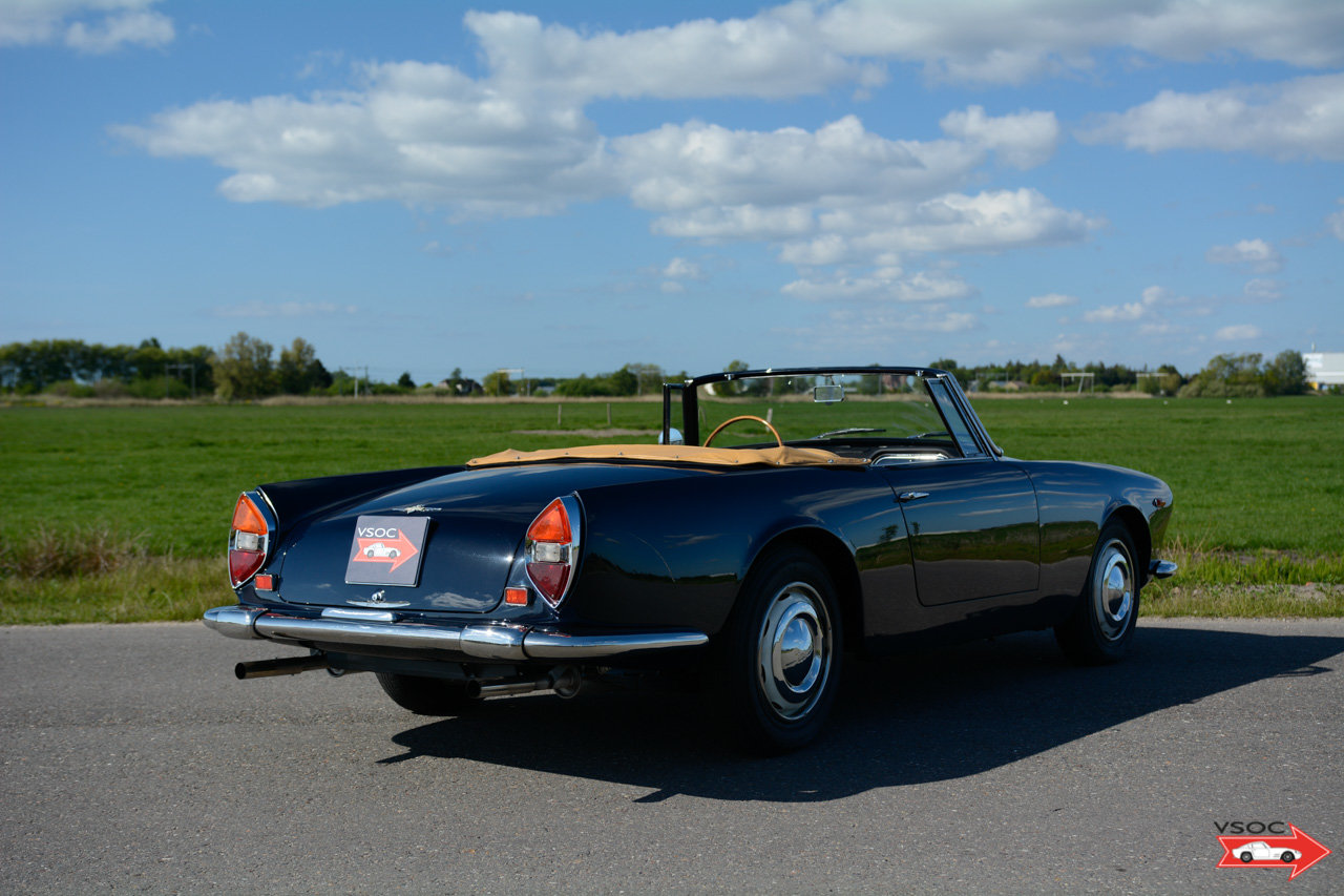 1962 Lancia Flaminia 3C 2500 Touring Convertible - very charming For Sale (picture 2 of 6)