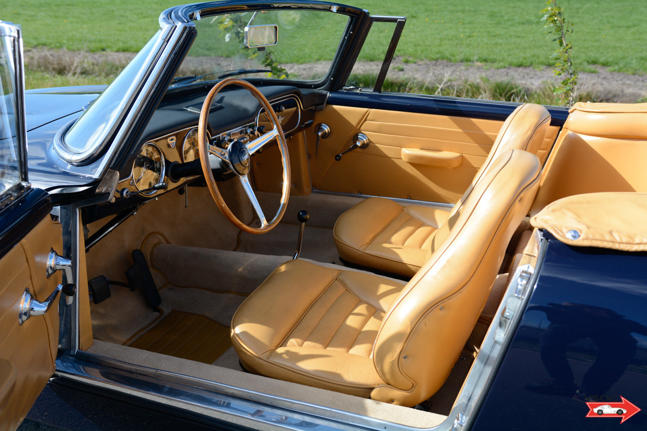 1962 Lancia Flaminia 3C 2500 Touring Convertible - very charming For Sale (picture 3 of 6)
