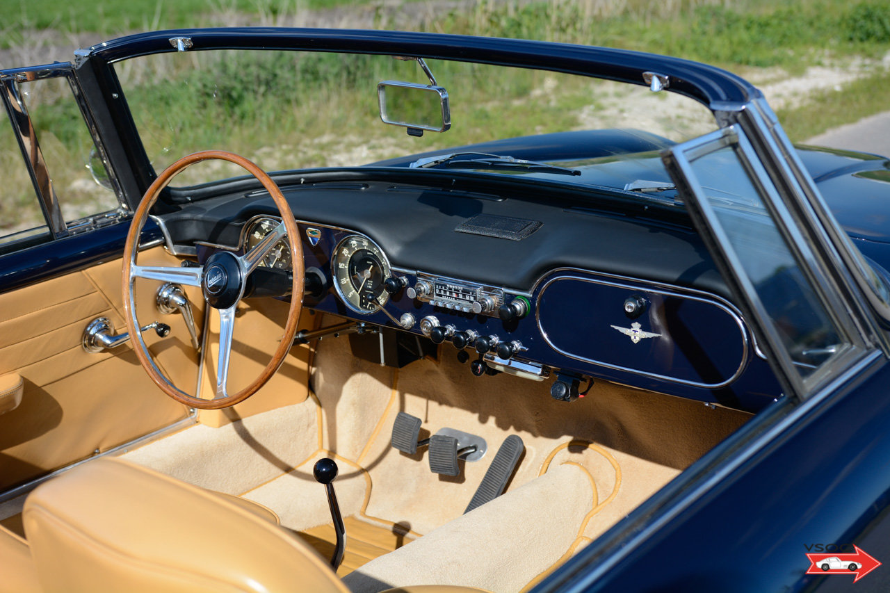 1962 Lancia Flaminia 3C 2500 Touring Convertible - very charming For Sale (picture 4 of 6)