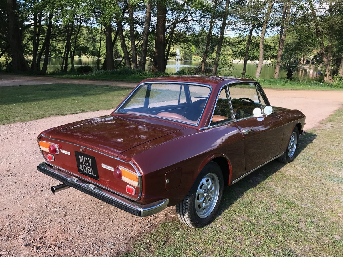 1973 Lancia Fulvia 1.3S Series 2 Right Hand Drive -5 Sp For Sale (picture 4 of 6)